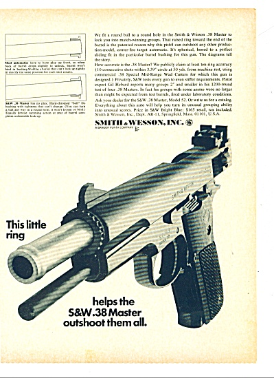 Smith & Wesson guns ad 1967 (Image1)