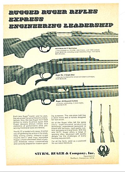 Sturm, Ruger & Company,Inc./  ad 1967 (Image1)