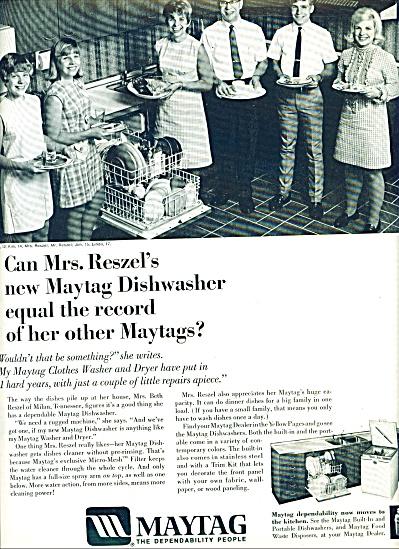 Maytag dishwasher ad 1969 (Image1)