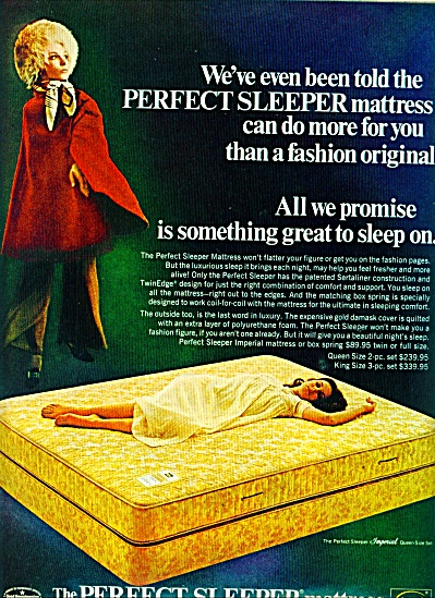 1969 Serta - Perfect Mattress AD COOL Retro (Image1)