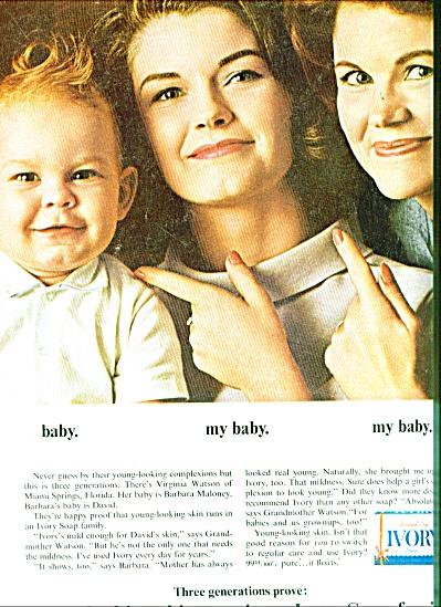 1964 Ivory soap ad Virg WATSON - BARB Maloney (Image1)