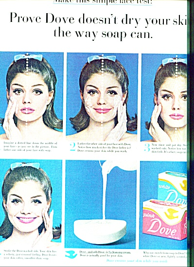 1964 Pink Dove soap 1964 CUTE MODEL (Image1)