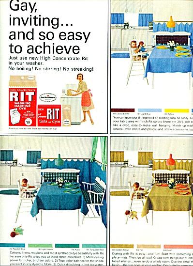 RIT washing machine dye ad 1964 (Image1)