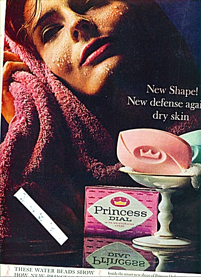 1964 Princess Dial soap ad Beauty Model (Image1)