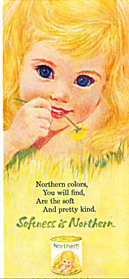 1963 NORTHERN TIssue GIRL BLOND - Blue Eye (Image1)