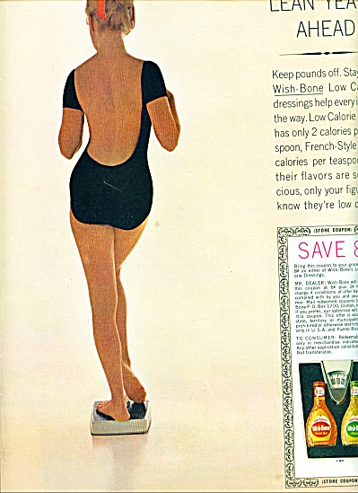 Wish Bone salad dressings ad 1963 (Image1)