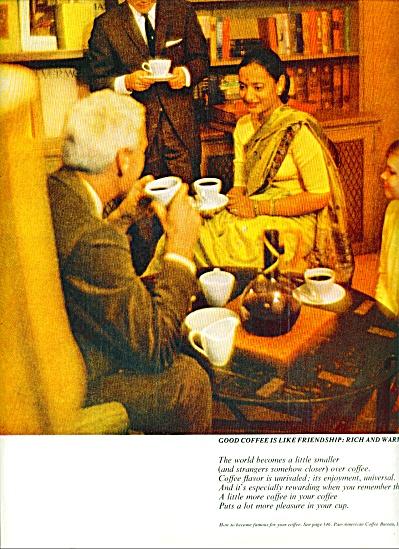 1963 Pan American coffee Bureau AD (Image1)