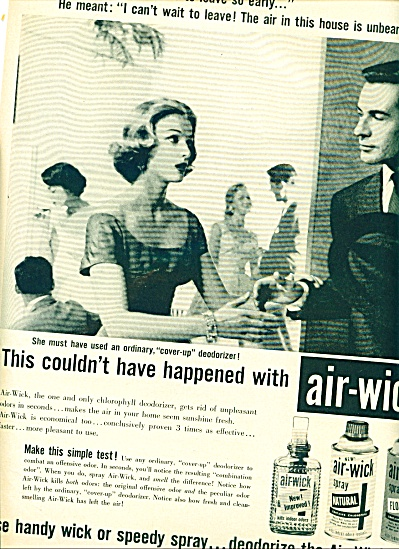 Air-wick spray -Natural & Floral ad 1957 (Image1)