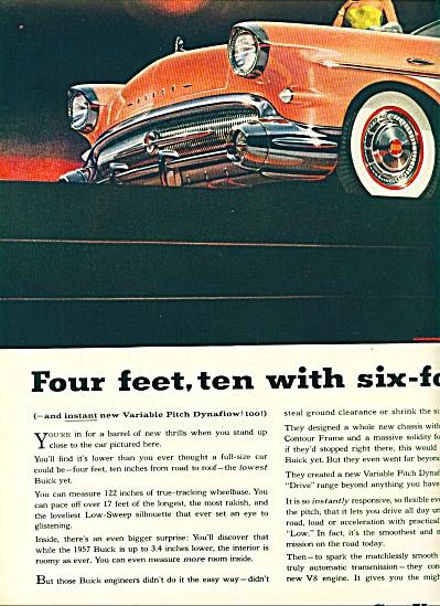 1957 BUICK RIVIERA PINK Car AD 2 pg (Image1)