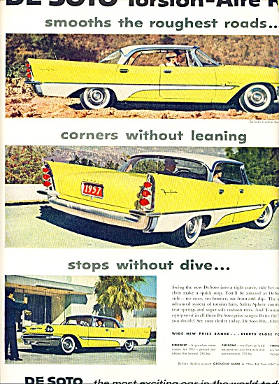 1957 DeSoto Dodge CAR AD Firesire Sport COOL (Image1)