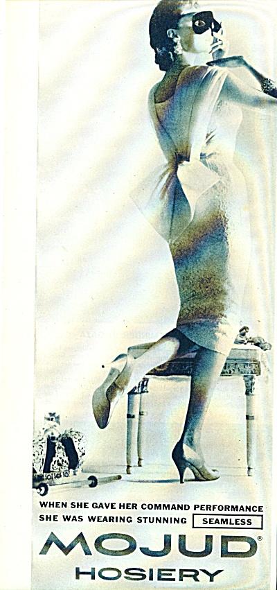 1957 Mojud Hosiery AD Masked Lady Performance (Image1)