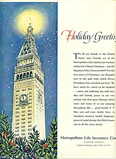 1957 Metropolitan Life Insurance AD NY BLDG (Image1)
