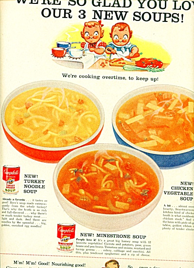 Campbell's soups - the Campbell kids 1957 (Image1)
