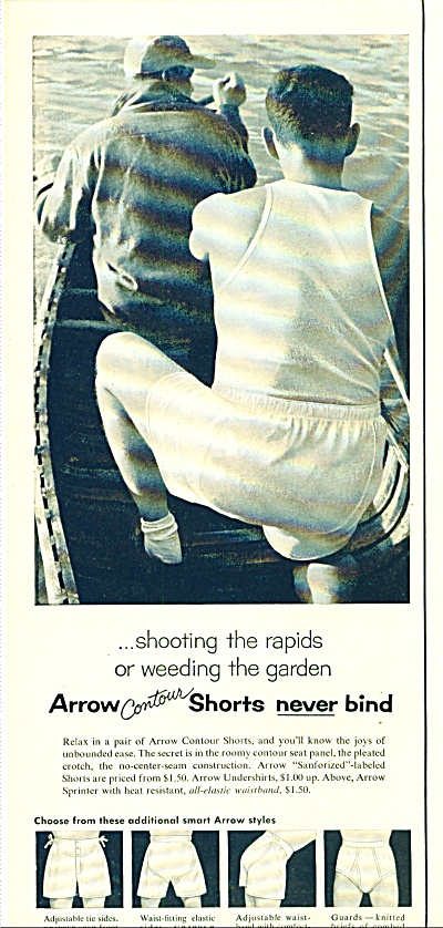Arrow Underwear ad 1955 (Image1)