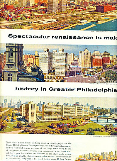 1959 Philadelphia Electric company AD ART SIP (Image1)