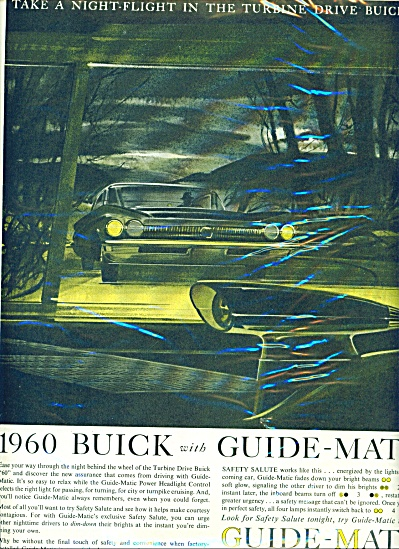 1960 Buick with guide matic ad 1959 (Image1)