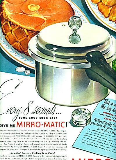 Mirro, the finest aluminum ad 1947 (Image1)