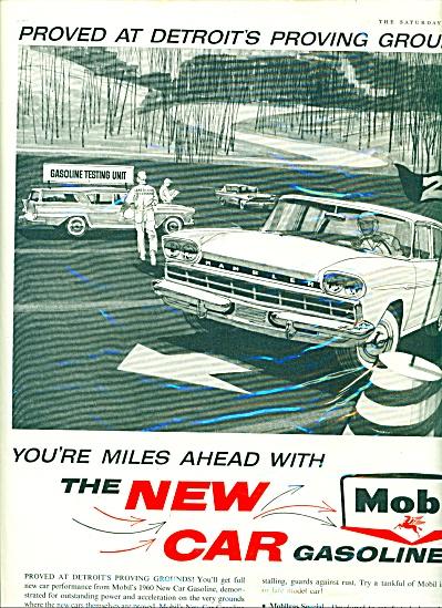 Mobil Gasoline ad 1959 (Image1)