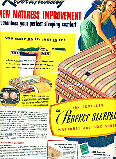 1947 SERTA Mattress AD Perfect Sleeper (Image1)