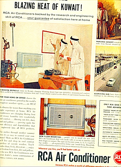 RCA Air conditioner ad 1955 (Image1)