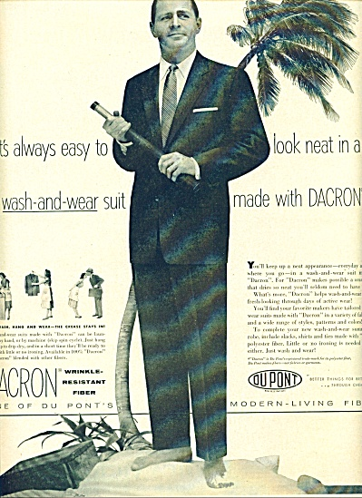 1955 Dacron, Dupont AD Man on ISLAND Model (Image1)