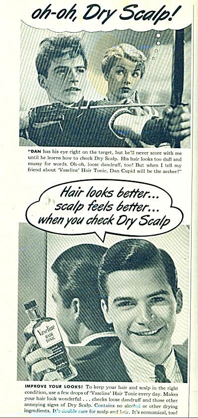 Vasoline Hair tonic ad 1952 (Image1)