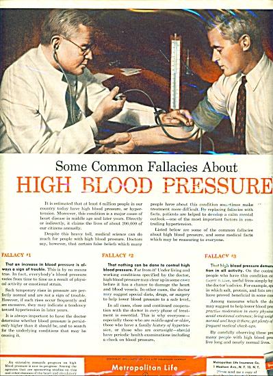 1952 Metropolitan Life Insurance AD Doctor (Image1)
