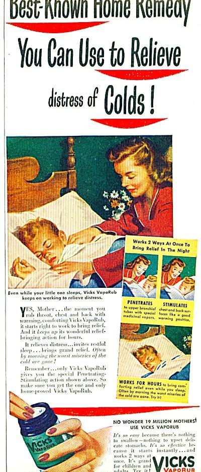 Vicks Vaporub ad 1947 (Image1)