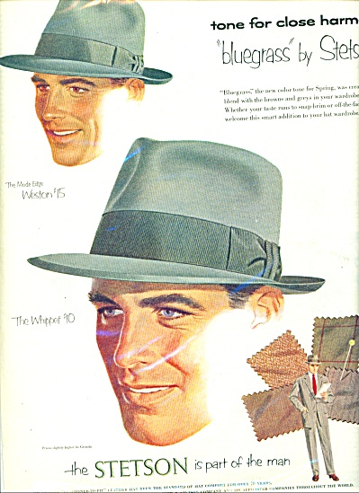 1952 Stetson hats ad BLUEGRASS (Image1)