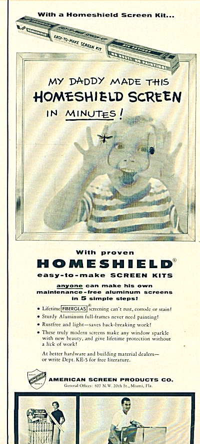 American Screen Products Co. ad 1955 (Image1)