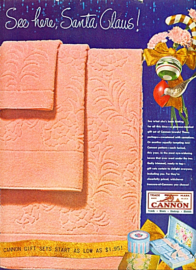 Cannon Towels ad 1947 (Image1)