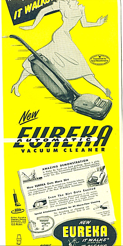 New Eureka vacuum cleaner ad (Image1)