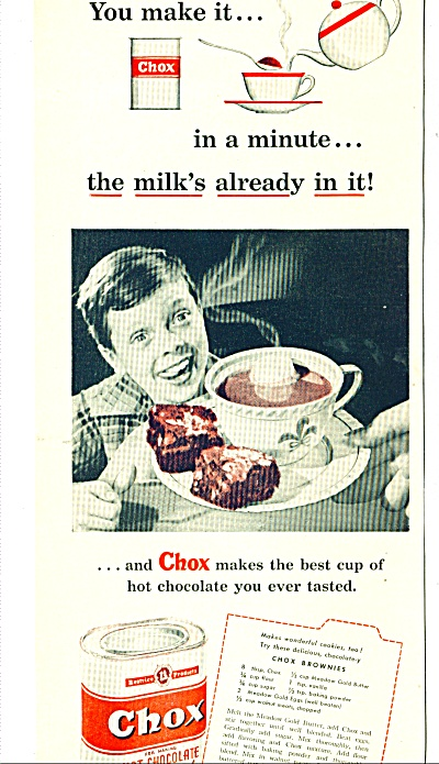 Choc Hot chocolate ad 1948 (Image1)