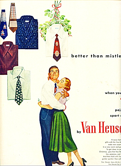 1948 Van Heusen Mens Clothes Pajamas AD (Image1)