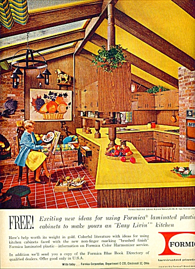 Formica laminated plastic cabinets ad (Image1)