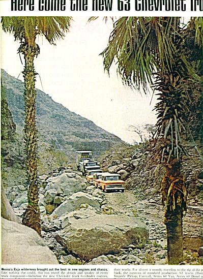 1963 Chevrolet Trucks Mexico Baja 2 pg (Image1)