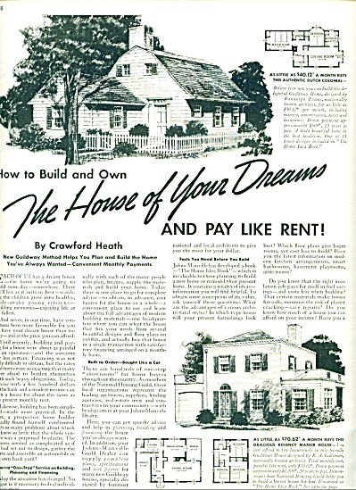 1939 Johns Manville - Home Ideas AD Crawford (Image1)