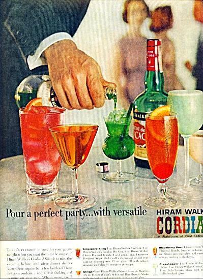 Hiram Walker's Cordials ad 1959 (Image1)