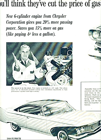 1959 Chrysler Plymouth Dodge DART CAR AD (Image1)