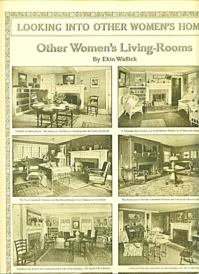 1914 VINTAGE HOMES 4 pg ARTICLE Designs ++++ (Image1)
