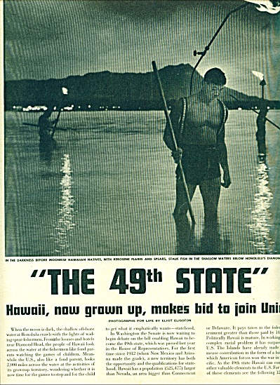 1948 Hawaii Makes bid - become 49th State 13p (Image1)