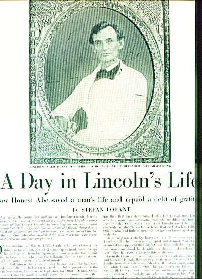 1948 A Day in Lincolns Life Article Abraham (Image1)