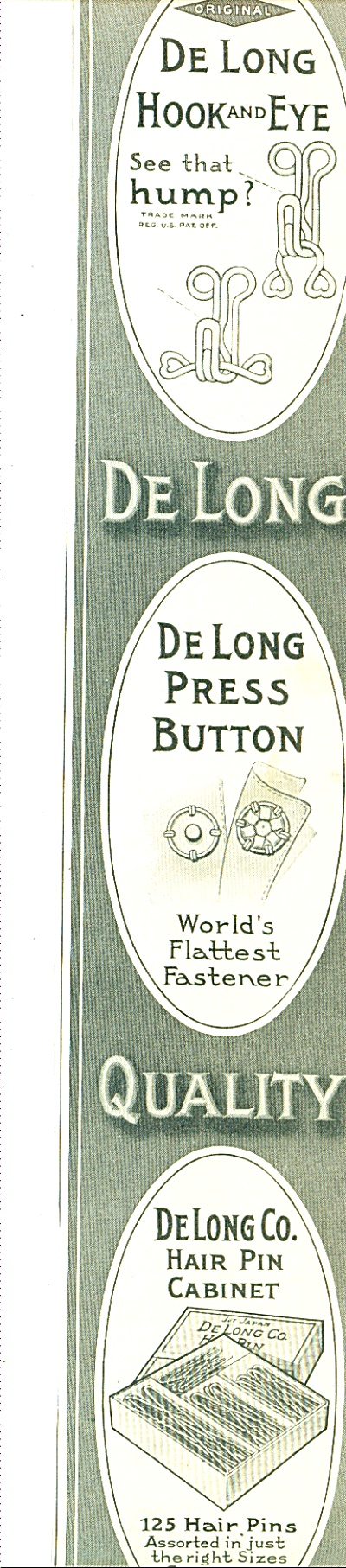The Delong Hook And Eye Company Ad 1914