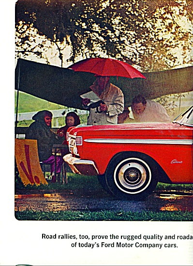 1964 Ford Comet Car PROMO AD 2 pg (Image1)
