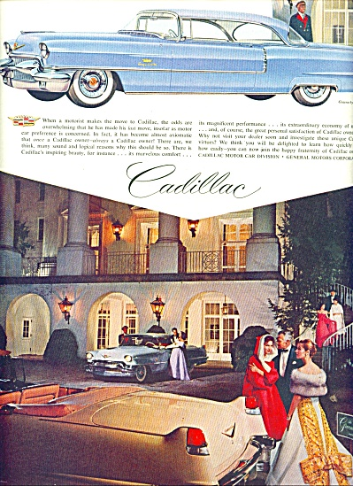 1956 Cadillac Car AD GOWNS by LANVIN Castillo (Image1)