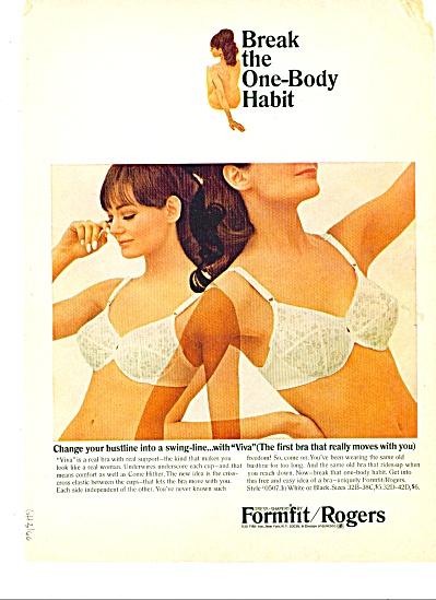 1956 Formfit  Rogers BRA VIVA ad (Image1)