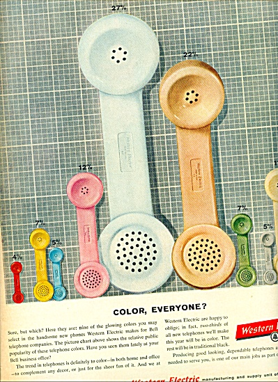Western Electric Ad 1960