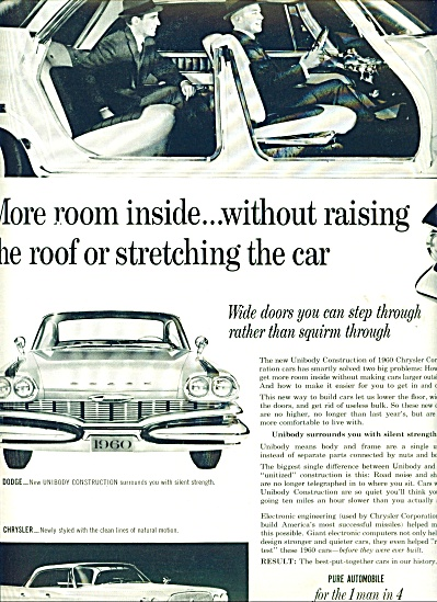 Plymouth automobile for 1960 ads (Image1)