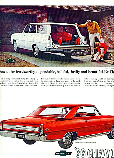 Chevrolet Chevy II for 1966 (Image1)