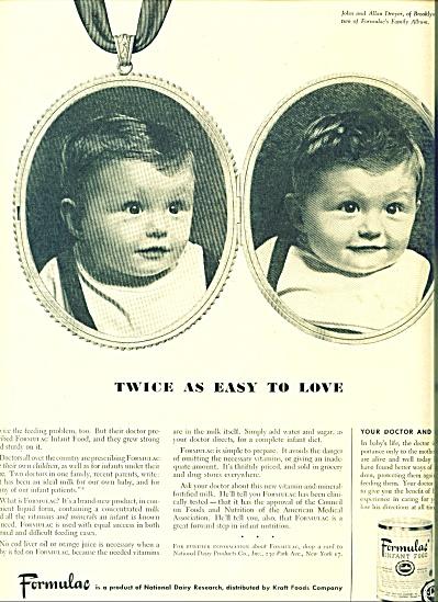 1948 Formulac Baby AD JOHN - ALLAN DREYER NY (Image1)